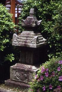 藤原景正の墓写真
